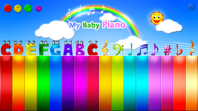 My baby Piano Android 3