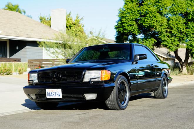 1990 Mercedes Benz 560SEC AMG Hire Yorba Linda