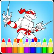 Coloring:Turtles Ninja Legends