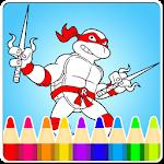 Coloring:Turtles Ninja Legends Icon