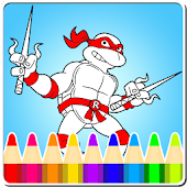 Coloring:Turtles Ninja Legends