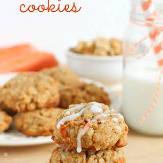 Carrot Oatmeal Cookies.