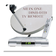 All in One Dish-DTH TV Remote