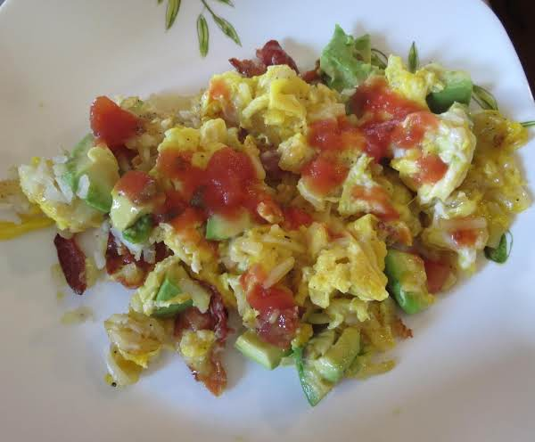 Our Family Loves Southwestern Style Cooking, And Anything With Avocados Is An Added Bonus.  This Is Such An Easy, Quick Breakfast And Can Easily Be Doubled.