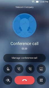 ASUS Calling Screen Screenshot