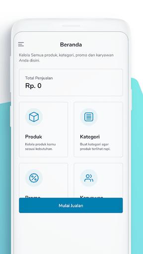 kawn point of sales (pos) - kasir online screenshot 1