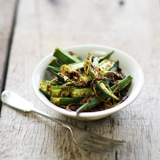 Tangy Fried Okra.
