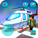 Helicopter Craft: Flying & Crafting Game 2017 icon