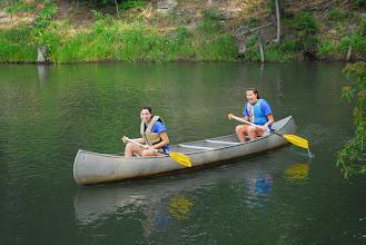 Photo: Canoeing on Lake Tawasi 'Tawasi' means 'Friend'
