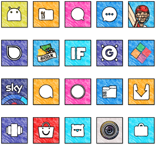 WhatsArt - Icon Pack  screenshots 2