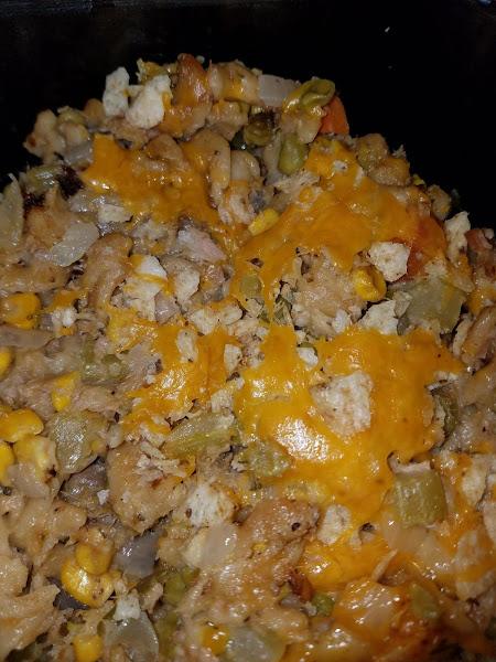 Mom's Crockpot Tuna Casserole Recipe
