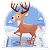 Cute Christmas Reindeer Theme file APK for Gaming PC/PS3/PS4 Smart TV