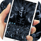 Dark Grim Reaper keyboard