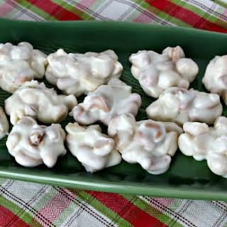 Crock Pot Candy Vanilla Nut Clusters.