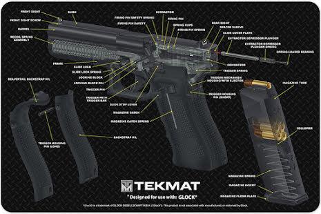 TekMat Glock 3D Genomskärning