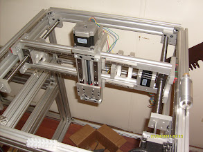 Photo: 600mm 3 axis mill module partially complete