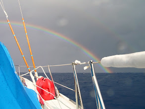 Photo: Шквал и радуга/ Squall and rainbow.