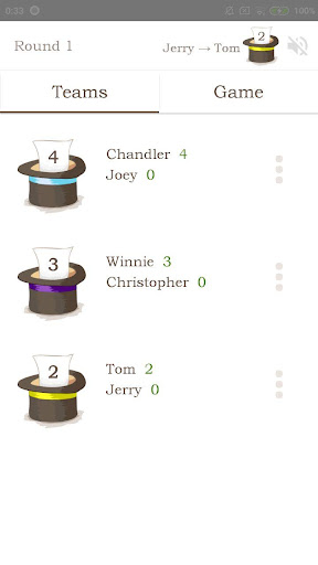 The Hat u2014 guess and explain words with friends 3.0.1 screenshots 2