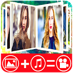 Photo Video Maker With Music : Slideshow Maker Icon