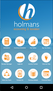 Holmans Accounting & Taxation- screenshot thumbnail