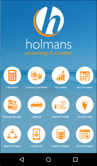 Holmans Accounting & Taxation- screenshot