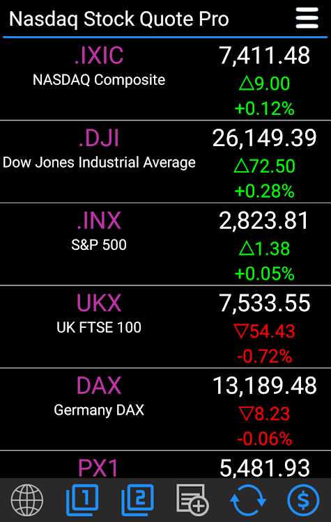 Stocks - Nasdaq Stock Quotes Pro – (Android Apps) — AppAgg