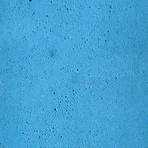 béton coloré bleu turquoise uni