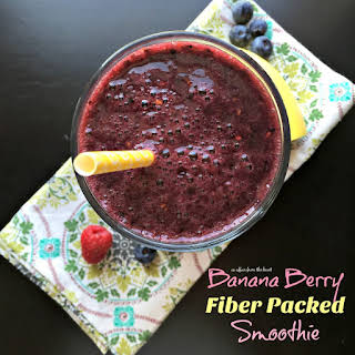 Banana Berry Fiber Packed Smoothie.