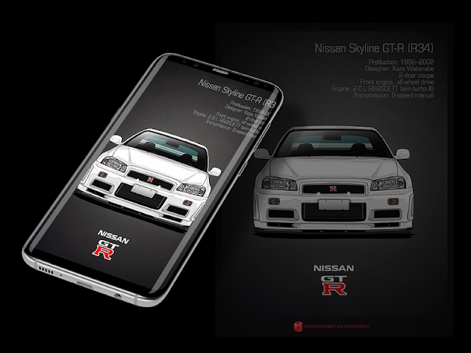 The great collection of jdm wallpapers hd for desktop, laptop and mobiles. Jdm Art Car Wallpaper Versi Terbaru Untuk Android Unduh Apk