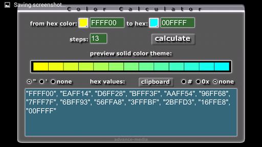 HTML Color Calculator