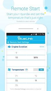 Hyundai Blue Link Screenshot 2