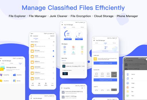 Nox File Manager - file explorer, safe & efficient 2.0.6 screenshots 1