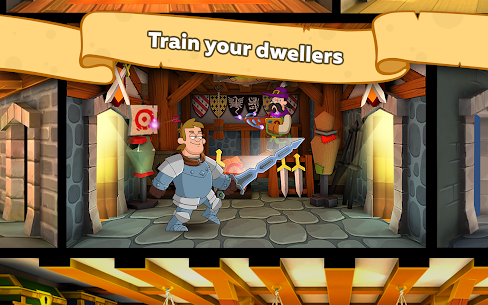 Hustle Castle: Medieval games in the kingdom Apk Download For Android and Iphone 4