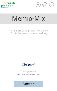 Memio-Mix - Gehirntraining- screenshot thumbnail