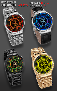 V11 WatchFace for Android Wear - náhled