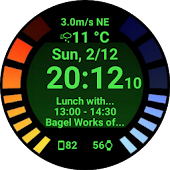 Omega Watch Face
