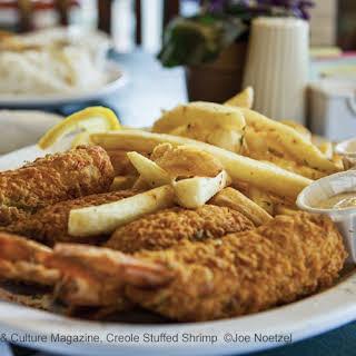 Classic Shreveport Creole Stuffed Shrimp.