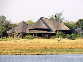 Photo: Chobe National Park - a lodge