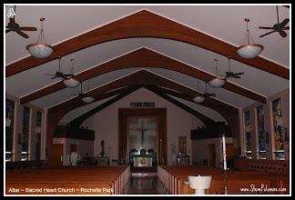 """Photo: A to Z  2011-08-25 Week 1 - Day 5  Thursday's """"A""""  """"Altar"""" Sacred Heart Church, Rochelle Park"""