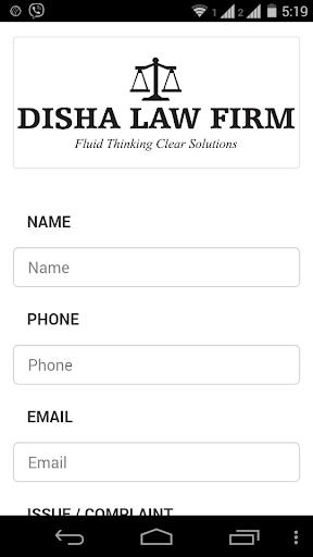 DISHA LAW