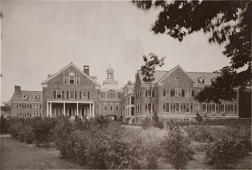 Mary Imogene Bassett Memorial Hospital, Cooperstown, NY. South side view.