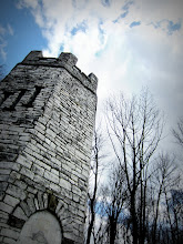 Photo: Clouds over a castle tower at Hills and Dales Metropark in Dayton, Ohio.