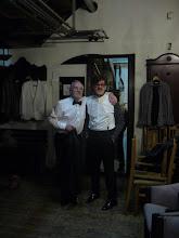 Photo: W garderobie z Januszem Pietrzykowskim, prowadzacym mój koncert.