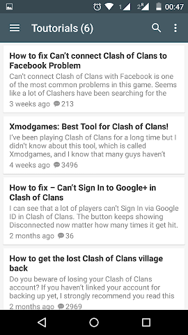 android A2ZGuide for Clash of Clans Screenshot 21