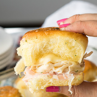 Buttery Chicken Cordon Bleu Sliders