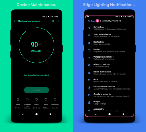 [Substratum] yoru. for Samsung Oreo 25 screenshots 6