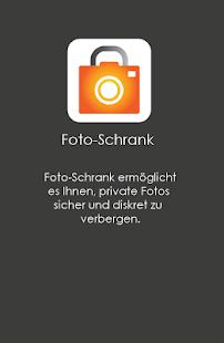 Foto-Schrank Screenshot