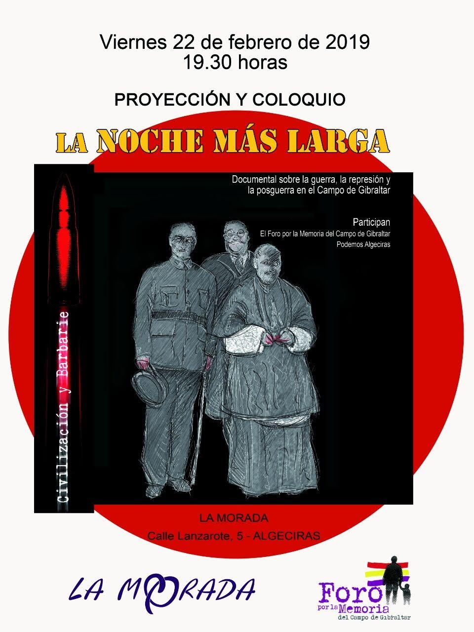 La Morada acoge a partir de este lunes una semana dedicados a la memoria histórica