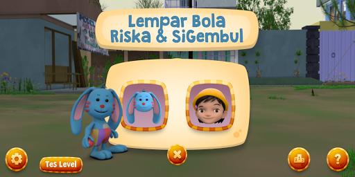 Lempar Bola Riska dan Gembul screenshot 3