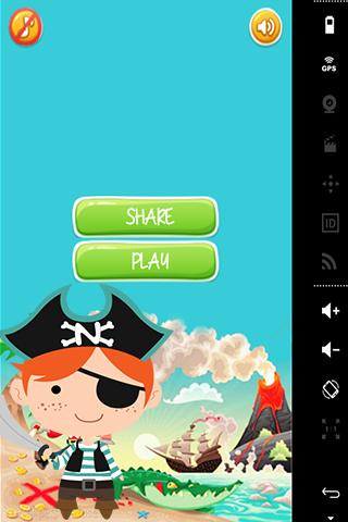 Candy Blast Pirate Pou